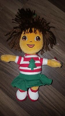 TY DORA THE EXPLORER BEANIE BABY - TANZANIA VERSION - MINT with MINT ... 78f9cb211166