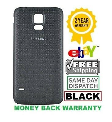 Battery Back Door Cover Waterproof (Black) Color For New Samsung Galaxy S5