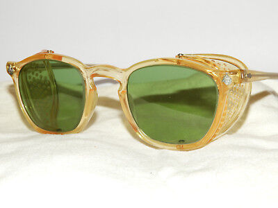 Vintage Mint 50S American Optical Sunglasses Safety Glasses Usa