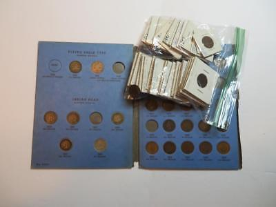 59 Coins    2 Flying Eagle & 57 Indian Head Pennies No Reserve