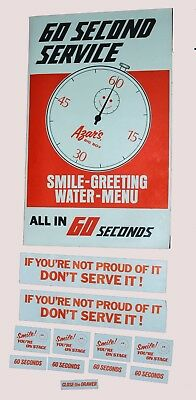 Azars Big Boy Restaurant Service Promotion Items From the Late 1970's!