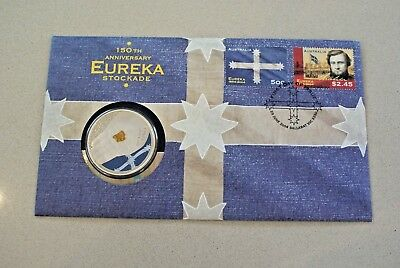 AUSTRALIA 2004 EUREKA $5 Coin and stamp issue - PNC