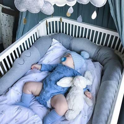 Comforting Newborn Crib Bumper Crocodile Pillow Baby Room Cushion Decor Toy Doll