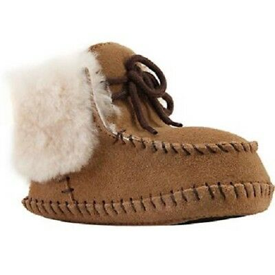 483c62a425d UGG BABY SPARROW Bootie Chestnut / Toddler Crib Boot Boys Girls
