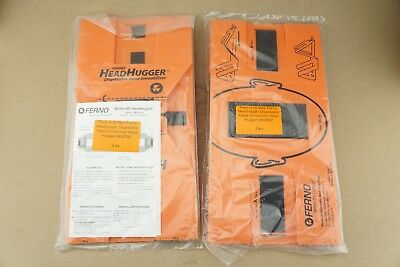 Pack of (2) New Ferno Headhugger Disposable Head Immobilizer Head Hugger 0832092