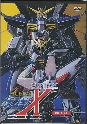 Mobile Suit Gundam X After War Complete DVD Set, Japanese Version 1-39 Complete