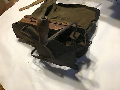 Vtg Cyclone Seed Sower Cyclone Seeder Co USA Hand Crank Seed Spreader 1940s
