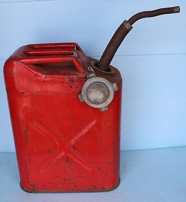 Vintage USMC Gas Jerry Can Jeep