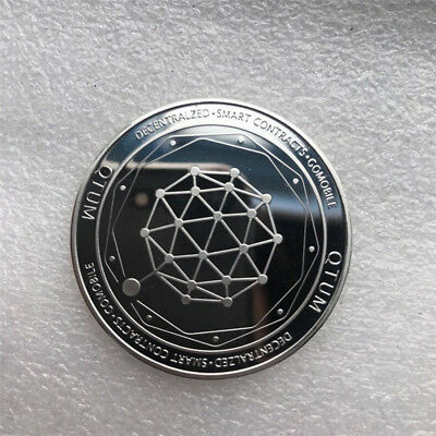 QTUM Golden Coin Quantum Storage Commemorative Collection Art  Souvenir