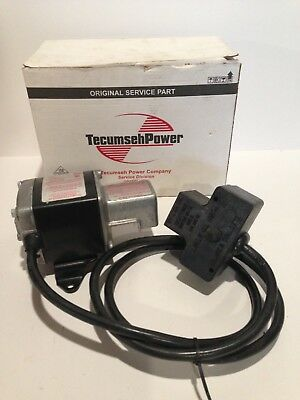 Tecumseh 36762 120v ac electric starter TVS and LEV engine up to 12 cubic inch