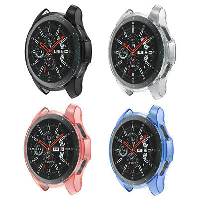 Soft TPU Plating Protector Skin Case Cover For Samsung Galaxy Watch Wrist 46mm