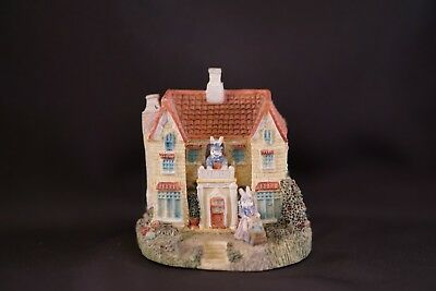 LIBERTY FALLS Jellybean Mansion INTERNATIONAL RESOURCING Miniature Easter Bunny