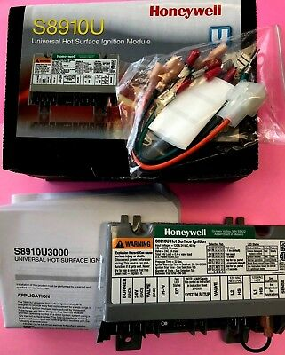 Honeywell S8910U3000 S8910U1000 Replaces S89 & S890 D,G,H Hot Surface Ignition