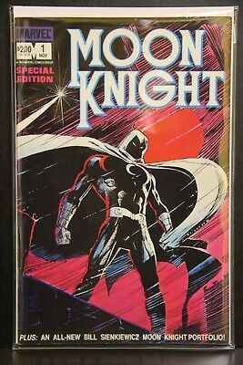 FREE SHIPPING Moon Knight Special Edition #1 Marvel Comics 1983 Bill Sienkiewicz