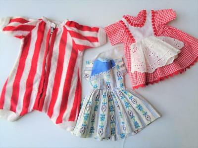 "Vintage 1950s Doll Clothes for 12""-13"" Madame Alexander R&B Vogue FACTORY MADE"