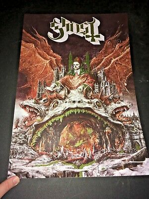 Limited Edition GHOST PREQUELLE Gold Foil Poster Print Cardstock 13×19
