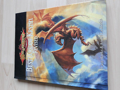 D&D Dragonlance Bestiary of Krynn Revised D20 System Wizards of the Coast