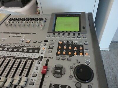 Roland VS-2400CD multitrack Faulty faders - Buzzing faders does not effect sound