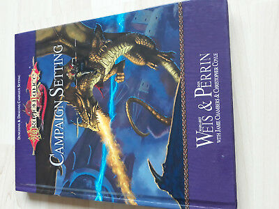 D&D Dragonlance-Campaign Setting- D20 System Wizards of the Coast