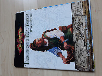 D&D Dragonlance Tasslehoffs Map The Age of Mortals -Wizards of the Coast -