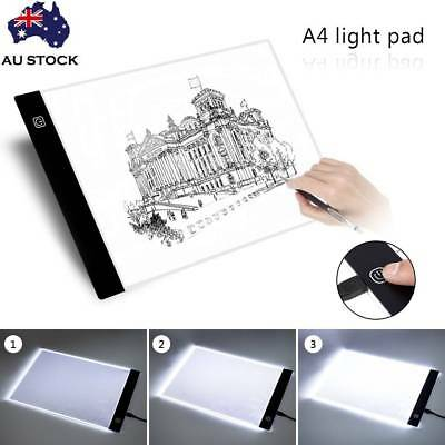 large A4 LED Artcraft Tracing Light Pad Box Drawing Board Stencil