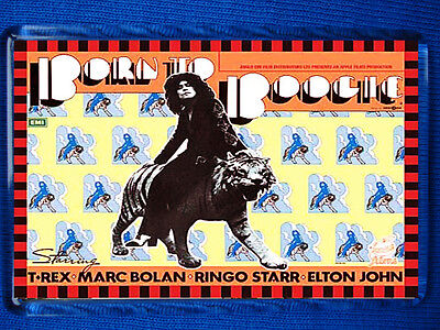 T.Rex - Born To Boogie Poster Jumbo Fridge Magnet Marc Bolan David Bowie