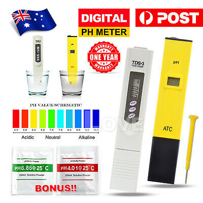 Premium Digital PH Meter / TDS Tester Aquarium Pool SPA Water Quality Monitor AU