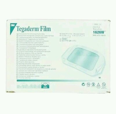 3M TEGADERM FILM 1626 10sheet CLEAR DRESSING Adhesive Wound Care Water Proof