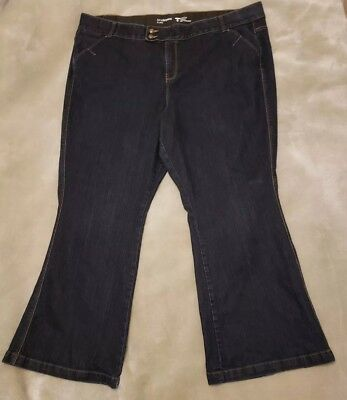 Lane Bryant flare jeans size 28  Tighter Tummy Technology