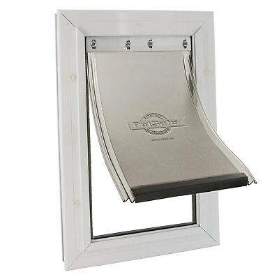 PetSafe Staywell Aluminium Pet Door Flap Energy Efficient Magnetic Lock Medium