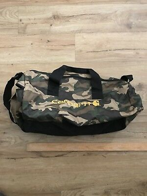 Carhartt Camo Packable Duffel Bag Carry On Gym Travel Everyday Sack Pack NEW