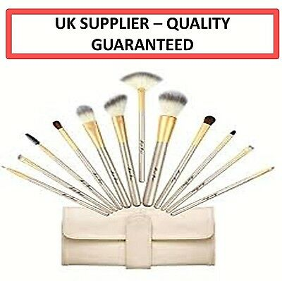 12 Pcs Professional Make Up Brush Set Foundation Brushes Kabuki Makeup Brushes