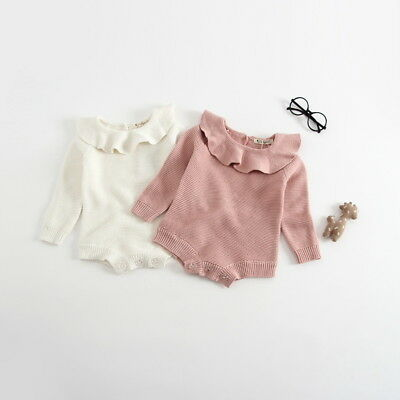 CLEARANCE! Beautiful Pink or Cream Knitted Romper **Free P&P + UK Seller**