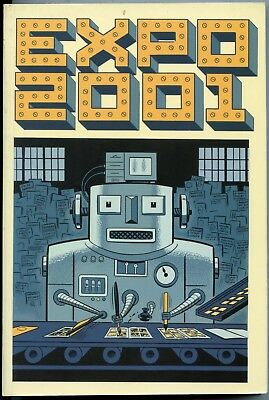 Expo 2001. Graphic Novel Paperback