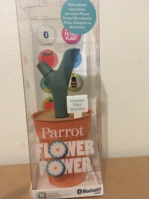 Parrot Flower Power Green,Wireless Plant Monitor