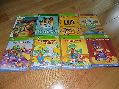 Leap Frog Tag Reader Lot of 8 Books leapfrog