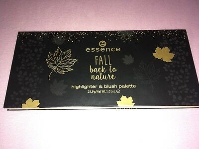"essence LE ""fall back to nature"" highlighter & blush palette NEU&OVP"