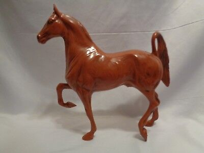 1965-1967 Hartland Woodcut Saddlebred Model Horse Toy