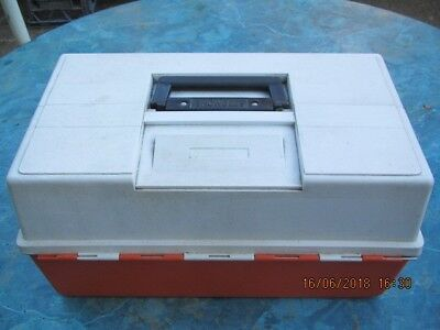 LARGE FISHING TACKLE BOX by SNOWBEE
