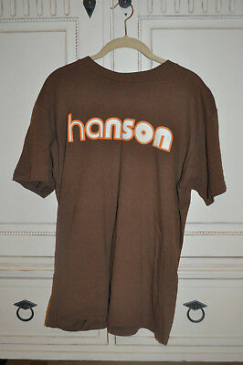 VERY RARE OFFICIAL Hanson Middle Of Nowhere Shirt! Size LARGE!