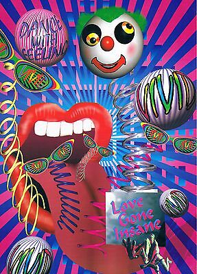 DANCE WITH FEELING Rave Flyer Flyers A4 year unknown Paradise Islington London