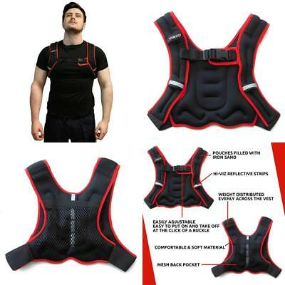 Viavito Weighted Vest - Black/Red, 5 Kg