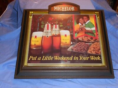 Vintage Michelob Lighted Beer Sign