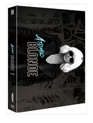 """Atomic Blonde "" Blu-ray STEEL BOOK FULL SLIP (4K+BD)"