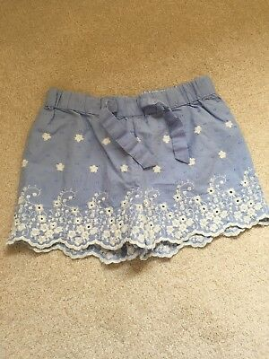 Girls Marks And Spencers Shorts 3-4 Never Worn
