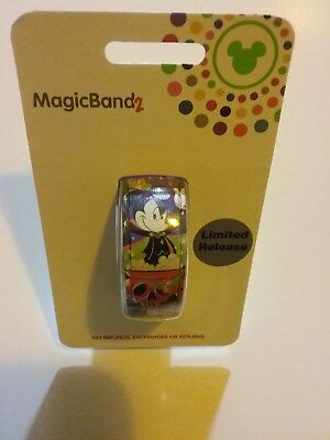 Disney Mickey's Not So Scary Halloween 2018 MagicBand 2  LR Sold Out!!!