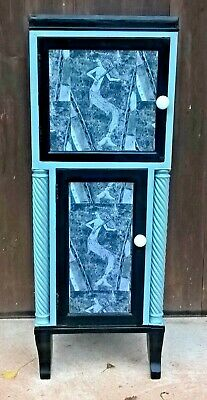 Upcycled Regency Cabinet / Antique Drinks Cabinet ( Free Delivery ? )