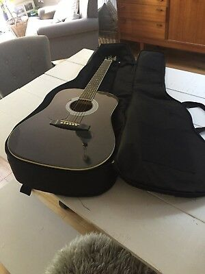 Childs Left Handed Stagg Acoustic Guitar Bundle