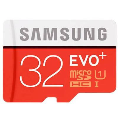 Samsung 32GB Micro SD Card Evo+ Class 10 With Adapter