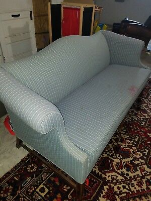 """Chippendale Style Formal Camel Back Sofa/settee 74"""""""